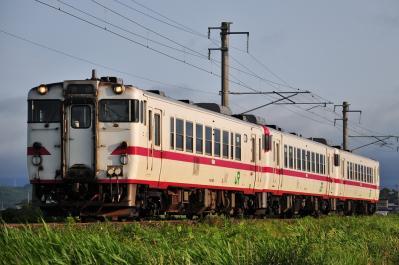 2012年7月21日 JR東日本津軽線 津軽宮田~油川 キハ40×3