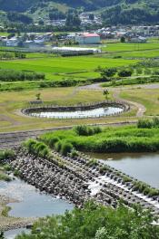 2012年7月21日 弘南鉄道大鰐線 石川プール前~石川 7000系7038-7037