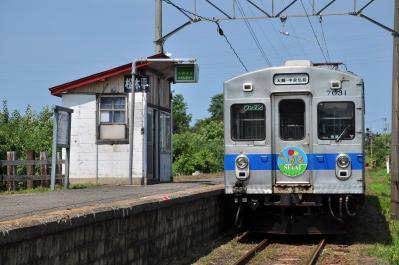 2012年7月21日 弘南鉄道大鰐線 松木平 7000系7031-7032
