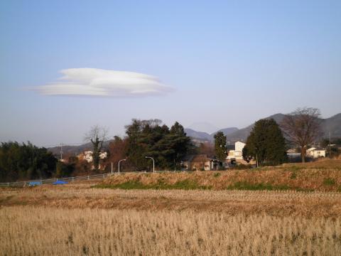 つるし雲と田んぼ9
