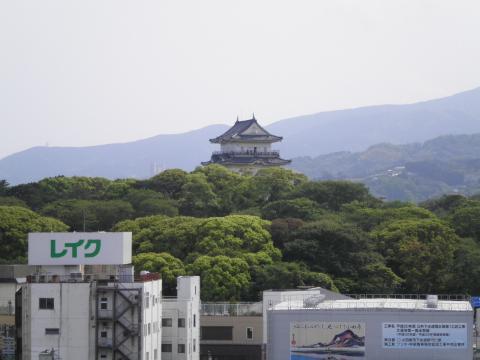 小田原城を望む07