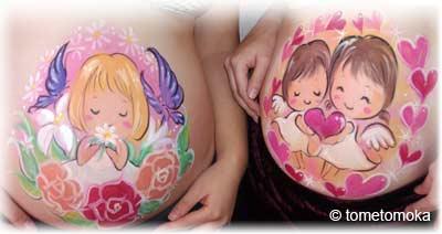 ベリーペイント2人の妊婦さん