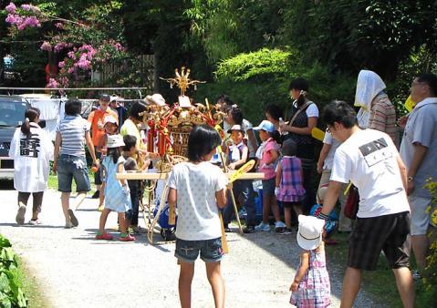 上野町の御神輿
