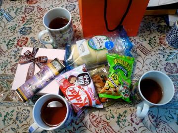 紅茶と一緒に♪
