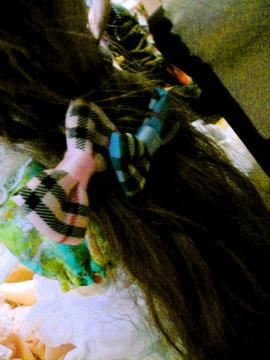 あまりにも可愛かったので髪をアレンジしちゃいました♪