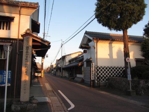 旧東海道 北脇