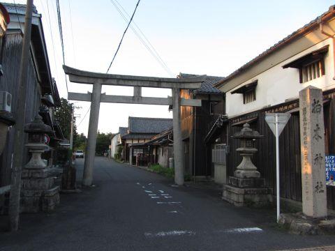 柏木神社参道