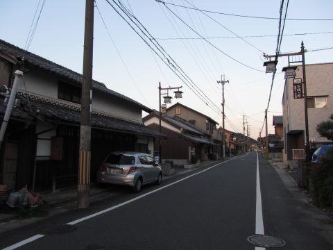 旧東海道 水口町東林口