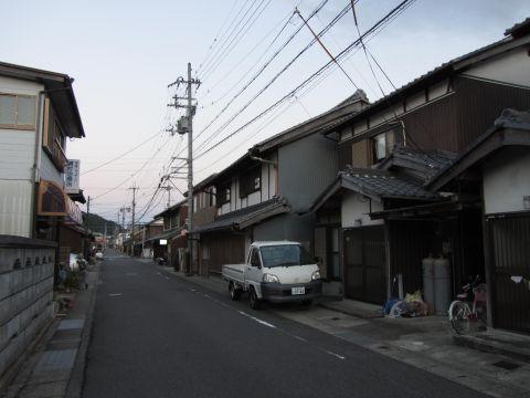 旧東海道 水口町城内