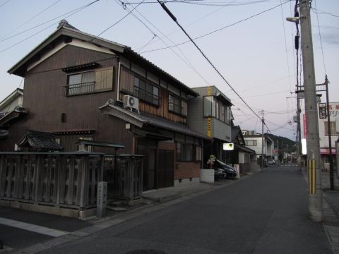 旧東海道 水口町城東(天神町)