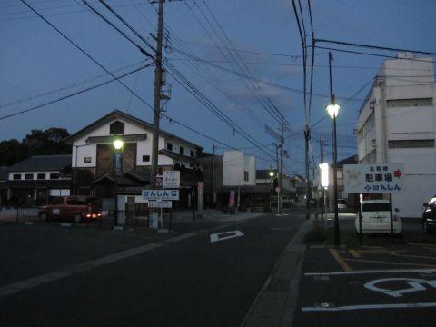 旧東海道 水口町八光(河内町)
