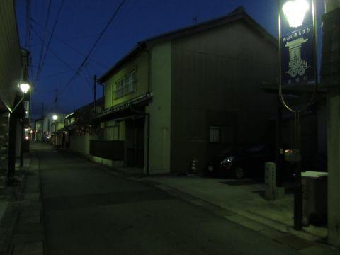 水口宿米屋町