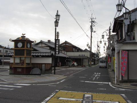 旧東海道 水口町京町(大池町)