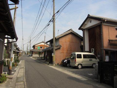 旧東海道 水口町京町(旅籠町)