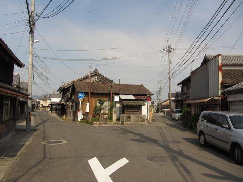 旧東海道 水口町元町