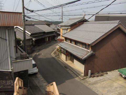 旧東海道 水口町元町(松原町)