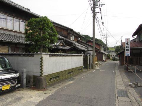 旧東海道 水口町秋葉(片町)