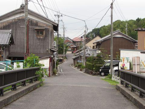 旧東海道 水口町秋葉(田町)