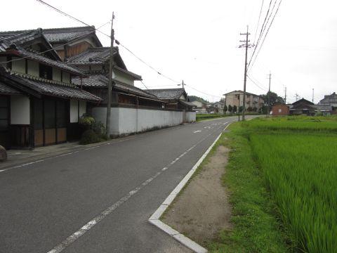 旧東海道 水口町新城