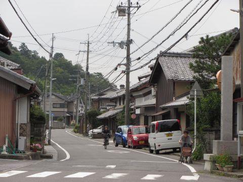 旧東海道 永福寺前