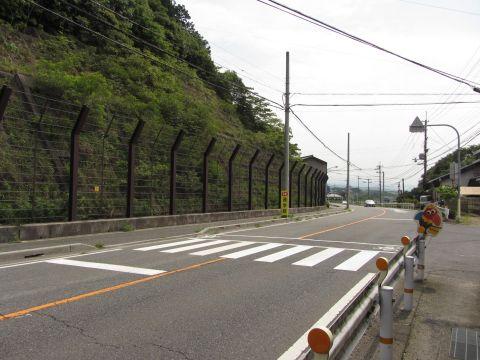 旧東海道 岩神社付近