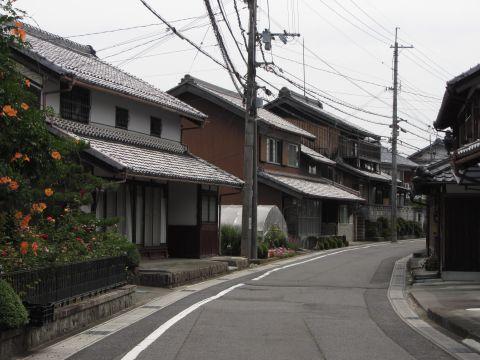 旧東海道 水口町今郷