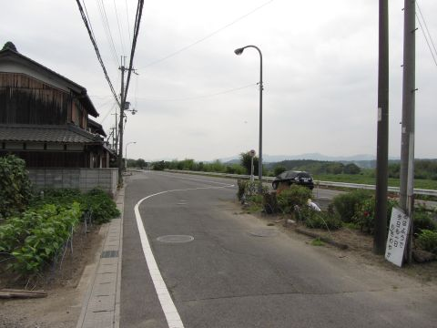 県道今郷バス停