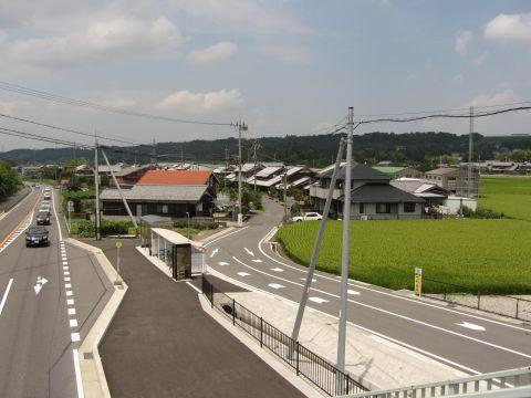 旧東海道 土山町大野(片山)