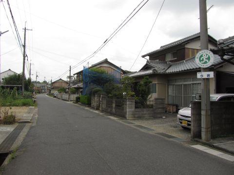 旧東海道 土山町大野(今宿)