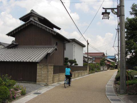 旧東海道 土山町大野
