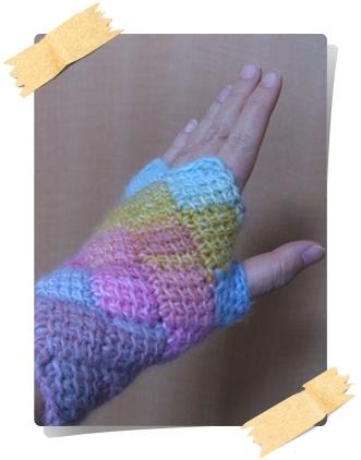 指なし手袋2