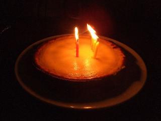 ボランティア仲間が用意してくれたケーキ