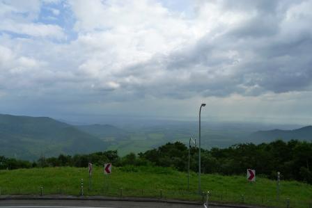 日勝峠の眺望2