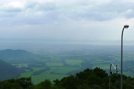 日勝峠の眺望