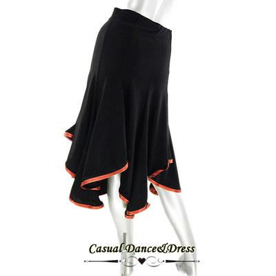 裾リボン付きスカート_1
