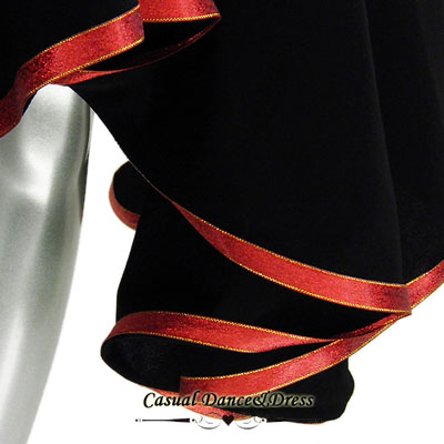 裾リボン付きスカート_2