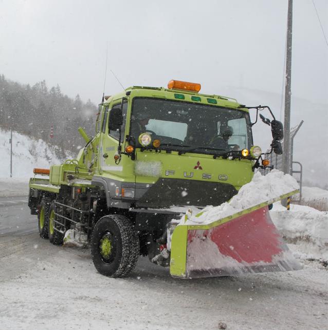 除雪トラック