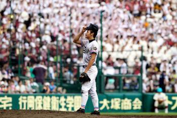 絵日記8・14高校野球8日目