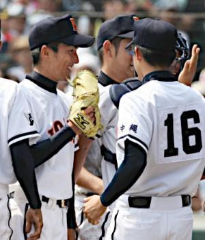 絵日記8・20高校野球14日目1