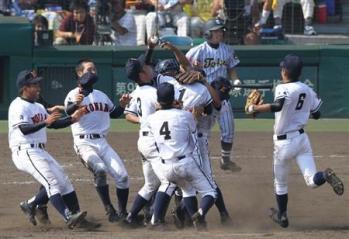 絵日記8・21高校野球決勝1