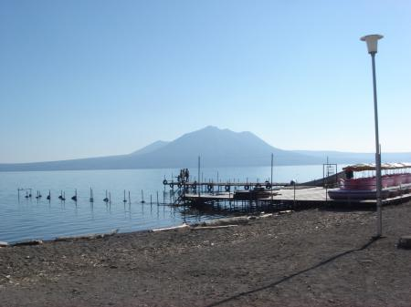 今日は風不死岳からも支笏湖がきれいに見えるだろうなぁ…