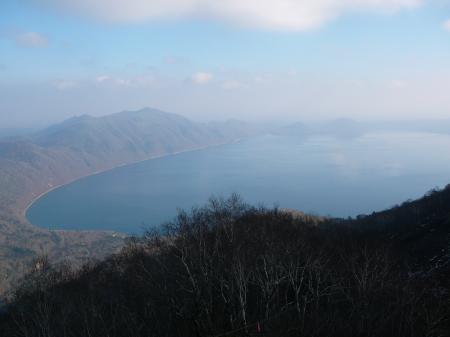 また来年ね~支笏湖