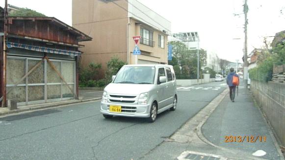 131211 流し街宣 学会員婦人部(6)(1)