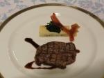 信州牛背肉のグリル