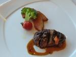 オーストラリア産牛フィレ肉のグリル トマトハーブのソース