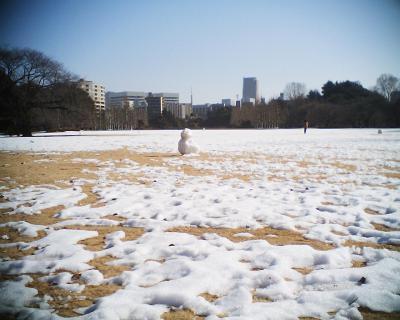 雪だるまと東京タワー:R2