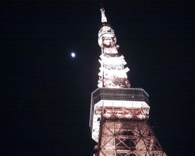 東京タワーと木星と月見:R2