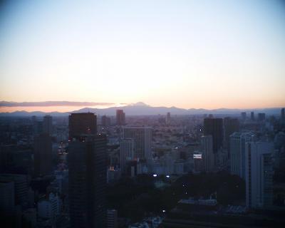 富士山夕景20130126:R2