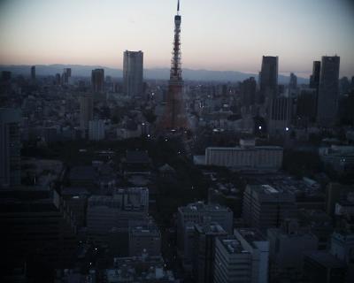ライトアップ前の東京タワー:R2