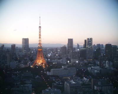 東京タワー夕景:R2
